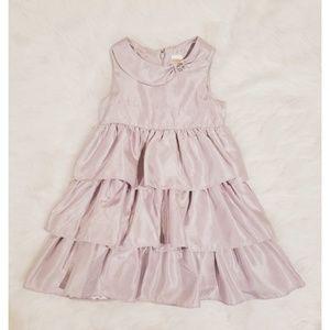 Gymboree Ruffled Dress Silver